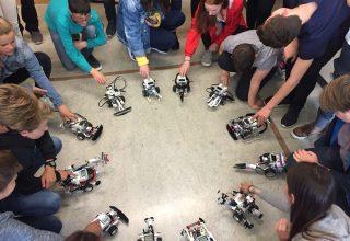 Robotikcamp mit Übernachtung