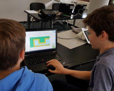 Privat: Coding- und Computer-Science-Camp mit Übernachtung